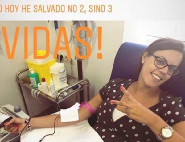 Elena donando.jpg